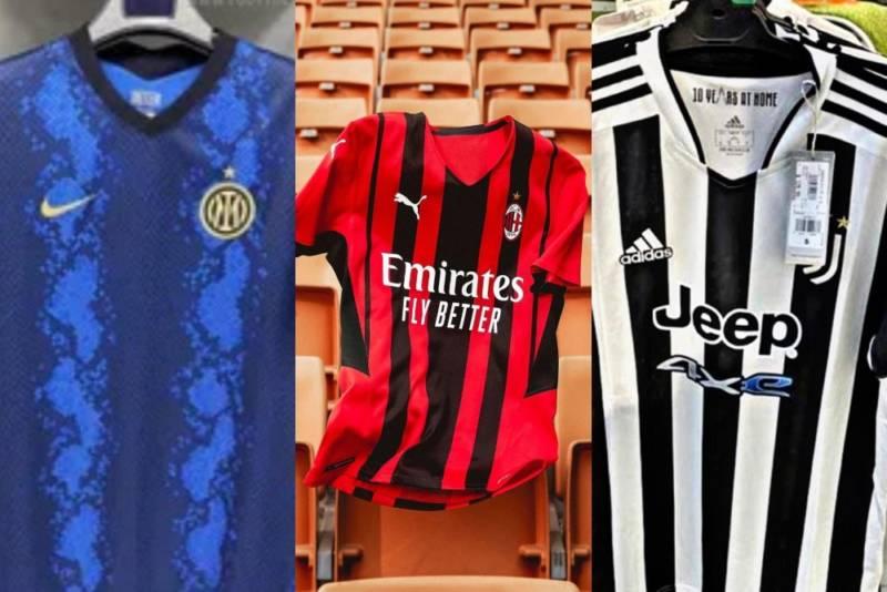 Maglie Serie A 2021/2022: tutte le FOTO della nuova stagione